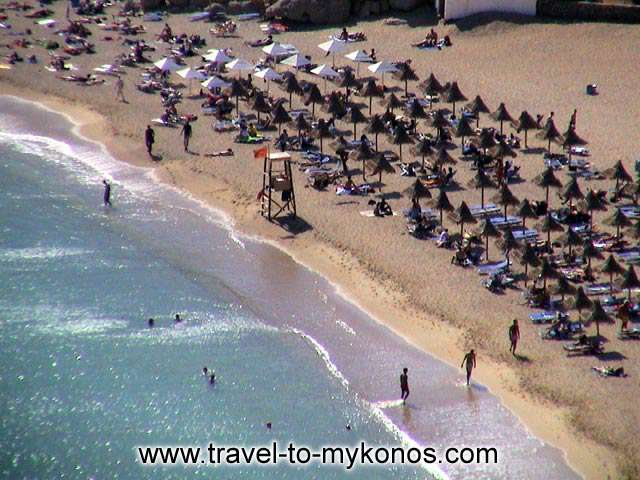 SUPER PARADISE BEACH - Super Paradise is one of the most cosmopolitan beaches of Mykonos.
