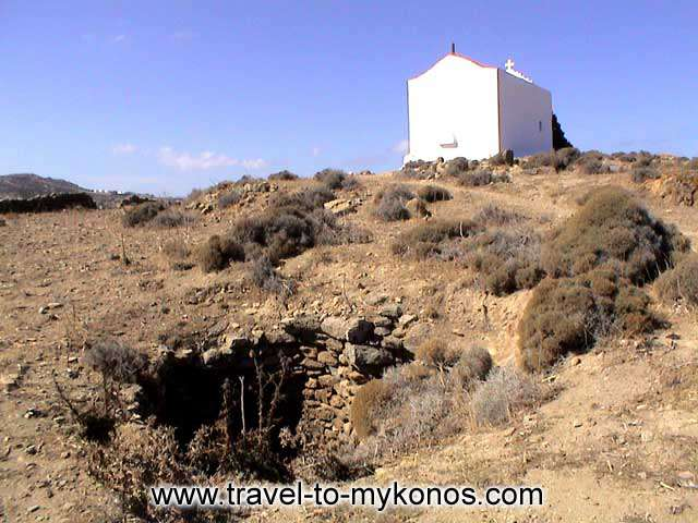 ANO MERA - Ano Mera village is found in distance of 8 km from the Chora.