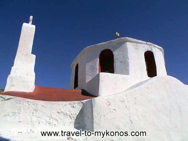 PALEOKASTRO - The monastery of Paleokastro located to the northside of Ano Mera.