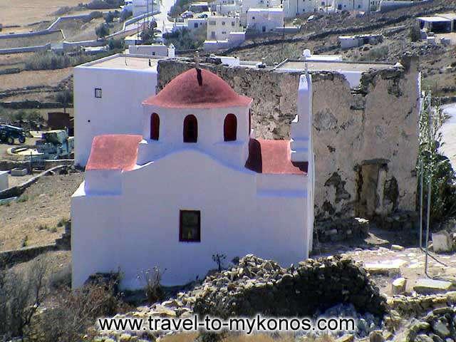 PALEOKASTRO - The monastery of Paleokastro was built on 18th century.