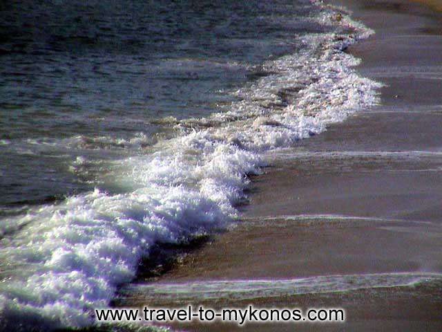 AGIOS STEFANOS BEACH - The Aegean Sea when she is become rough...