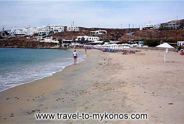 AGIOS STEFANOS BEACH - There are a lot of hotels in Agios Stefanos area.