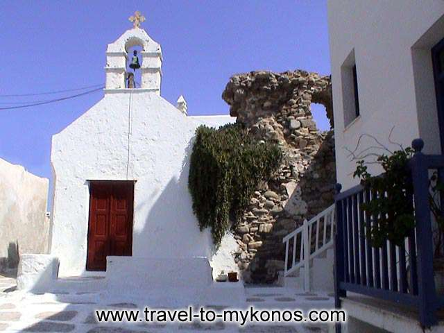 PARAPORTIANI CHURCH - Paraportiani is the most important religious monument to Mykonos.