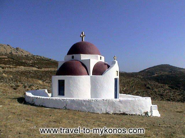 CHURCH - The church of Panagia in Elia area.