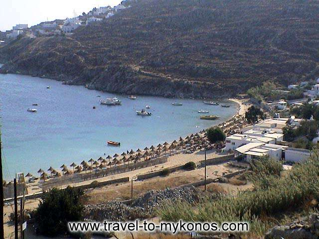 PSAROU BEACH - The wonderful beach of Psarou.