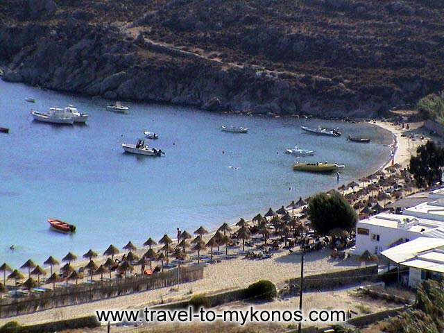 PSAROU BEACH - Psarou is found in a area with natural beauties.