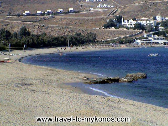 KALAFATIS BEACH - A view of the beautiful beach of kalafatis.
