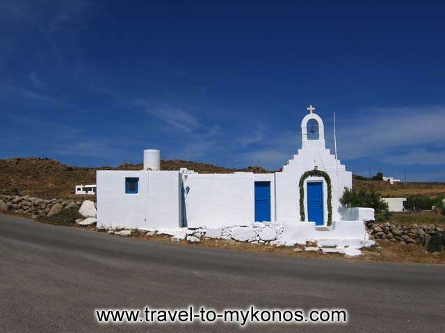 THE CHURCH - The church of Agia Anna