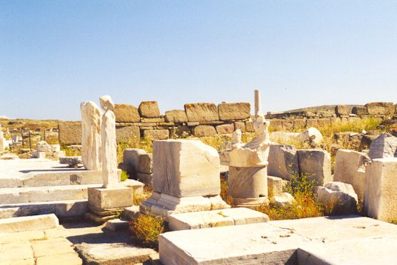 DELOS - All the island of Delos is a monument.