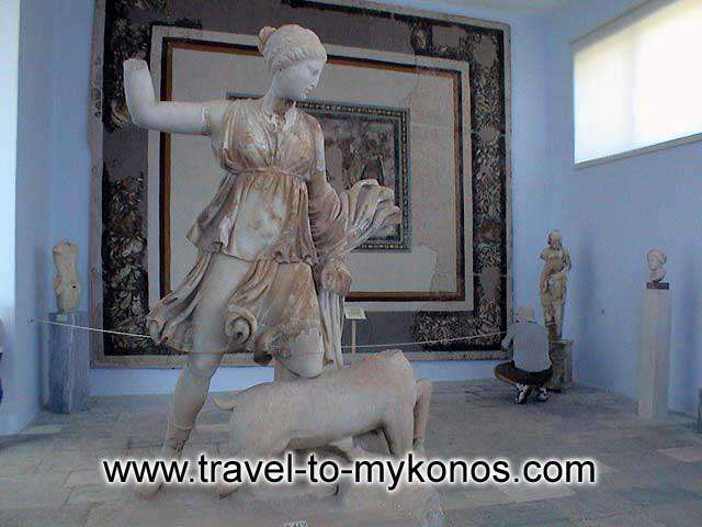 Archaeological museum of Delos -