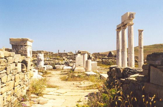 DELOS - Delos is the holy island of antiquity.