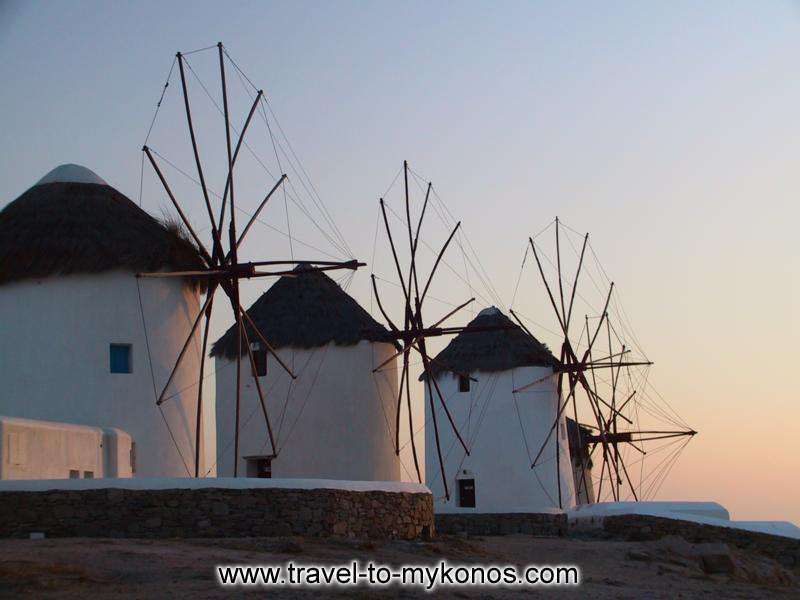 WINDMILLS AFTERNOON - Enjoy the sunset with view to the