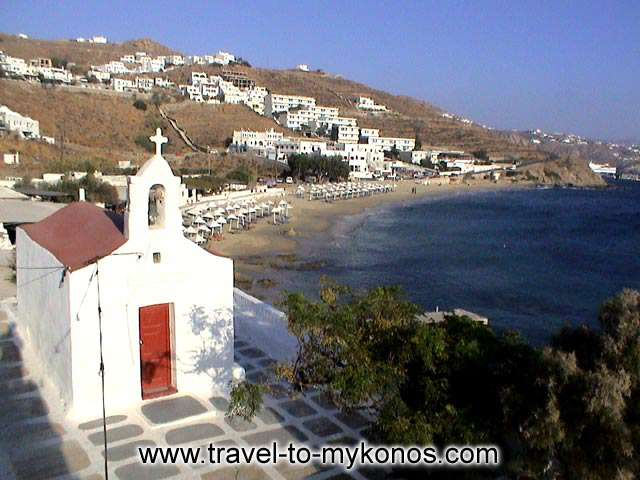 AGIOS STEFANOS BEACH - The region took her name from the small church that is built in the end of the gulf.