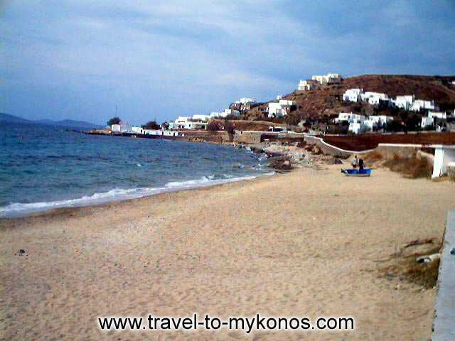 AGIOS IOANNIS BEACH - The beautiful sandy beach of Agios Ioannis.