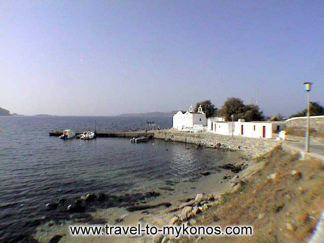 AGIOS IOANNIS BEACH - In this region were filmed the scenes from the movie Shirley Valentine.