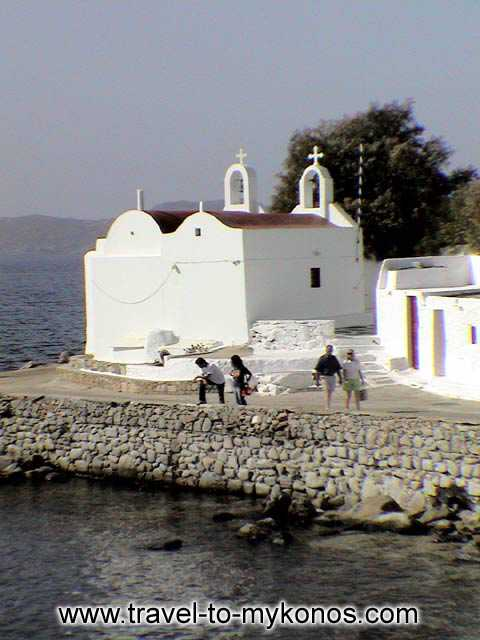AGIOS IOANNIS BEACH - A picturesque church which is built near to the sea.