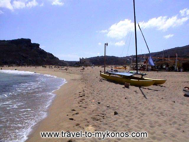 PANORMOS BEACH - Panormos is a beautiful sandy beach that is found to the north side of Mykonos.
