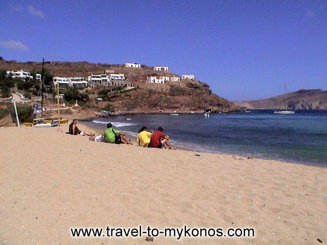 PANORMOS BEACH - A quiet beach in which you can enjoy with your friends the golden beach and the clean waters.