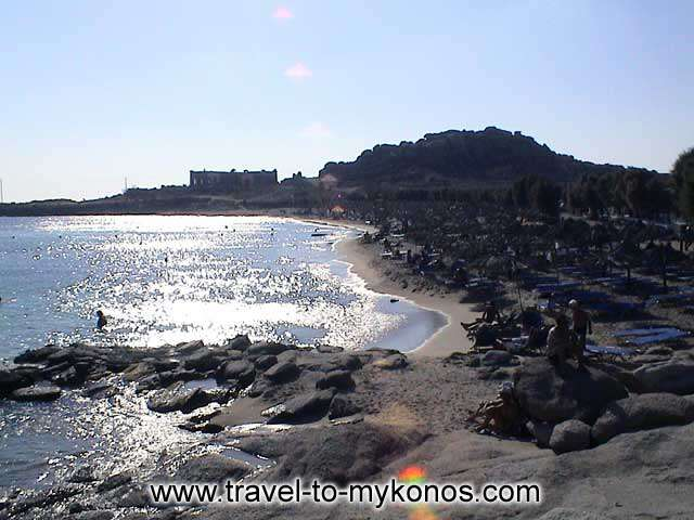 PARAGA BEACH - A beautiful quiet beach that is located near to Cape Drapanos.
