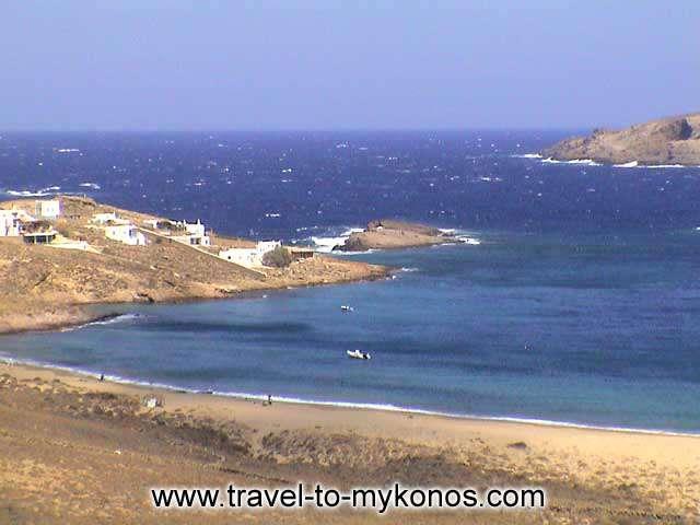 AGIOS SOSTIS BEACH - The long sandy beach is the characteristic of Agios Sostis.