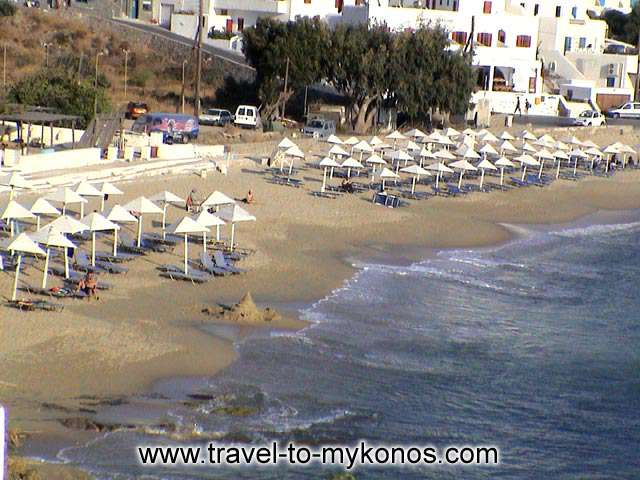 AGIOS STEFANOS BEACH - Agios Stefanos beach is well organished and attracts many tourists.