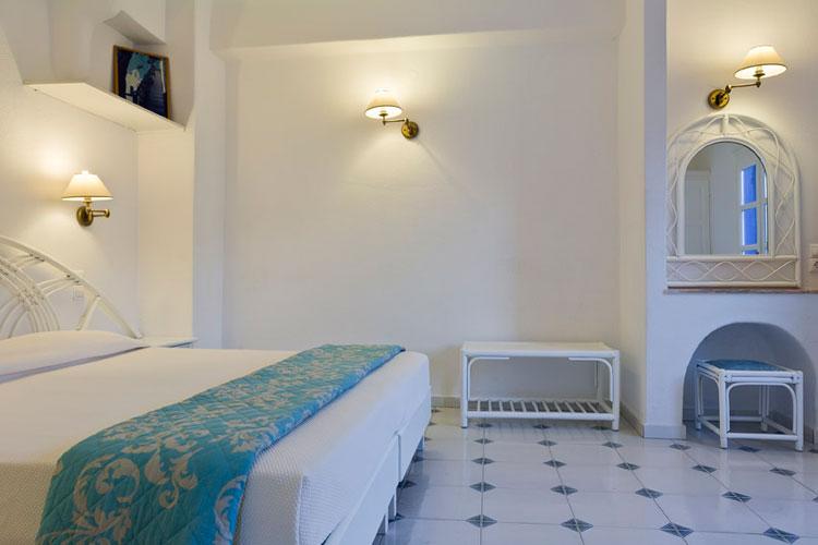 The pool of Kamari hotel in Mykonos CLICK TO ENLARGE