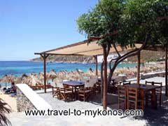 CAVO PSAROU  TAVERNS IN  Psarou