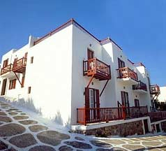 PETASOS TOWN  HOTELS IN  Myconos town