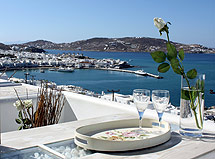MARINA VIEW  HOTELS IN  Mykonos Port , Cyclades islands