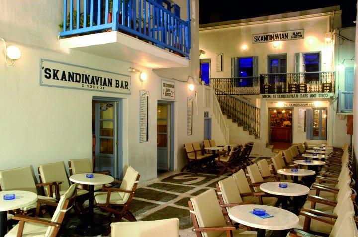 SKANDINAVIAN BARS-DISCO IN  Ag. Ioannis Barkia Mykonos Town
