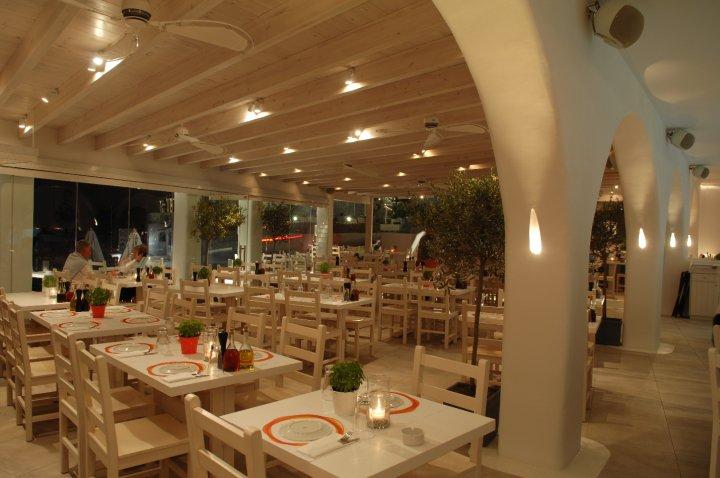 Avli Tou Thodori Restaurants In Platis Gialos Mykonos Greece