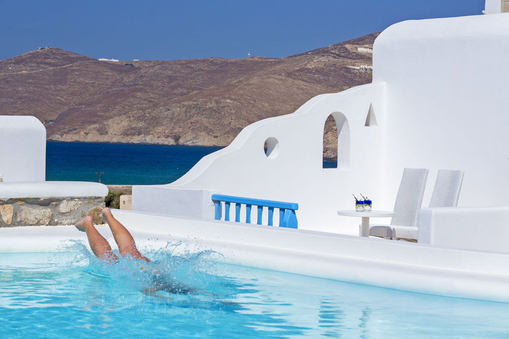 TERRA MALTESE IN  Ftelia Mykonos Cyclades islands