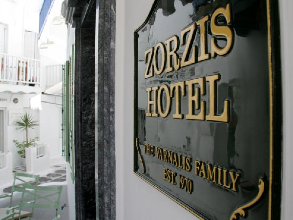 ZORZIS HOTEL  HOTELS IN  CITY CENTER <br><li>30, Kalogera Street