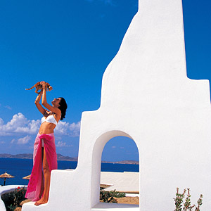 MYKONOS GRAND HOTEL & RESORT IN  AGIOS IOANNIS