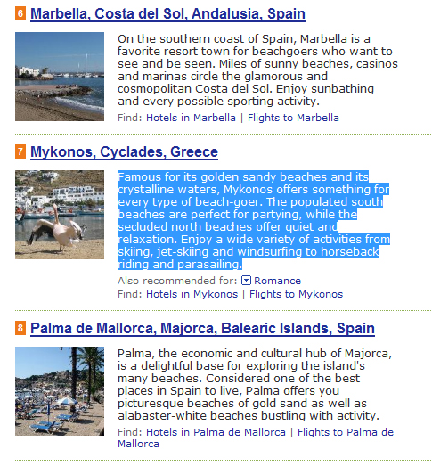 Good news from Tripadvisor, where Mykonos is the No 7 in Europe best beaches proposals. <br><br>