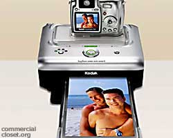 The gay and lesbian market has developed such that Eastman Kodak Co. has brought them into the advertising picture. Literally. <br> <br>